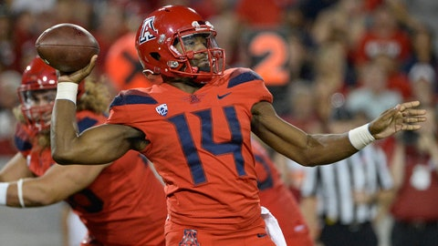 ON THE RISE: Khalil Tate, Arizona QB
