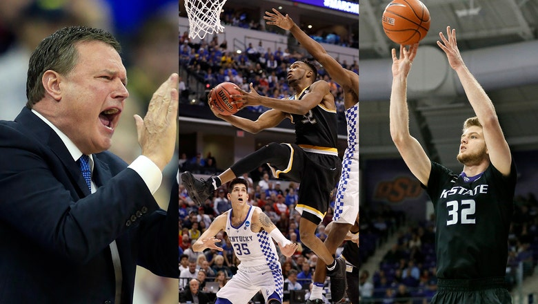 Road to Final Four could run through Kansas gantlet of Jayhawks, Shockers, Wildcats
