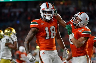 Miami and Oklahoma join the top four in CFB playoff rankings