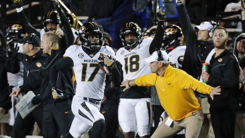 Mizzou runs past Vandy 45-17 and straight to bowl eligibility
