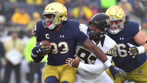 ON THE RISE: Josh Adams, Notre Dame RB