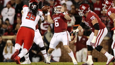 ON THE RISE: Baker Mayfield, Oklahoma QB