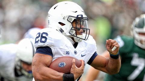 FALL GUYS: Saquon Barkley, Penn State RB