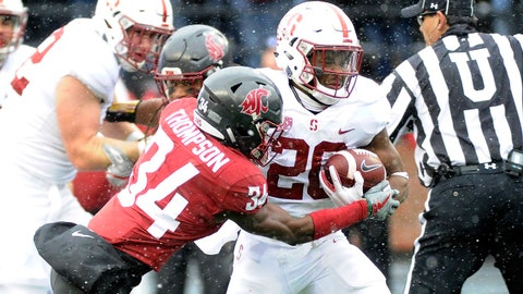 ON THE RISE: Bryce Love, Stanford RB