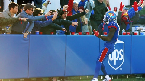 Kansas topped by Baylor, 38-9