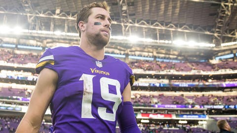 Adam Thielen, Vikings receiver (⬆ UP)