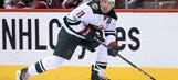 Wild's Parise skates for first time since back surgery