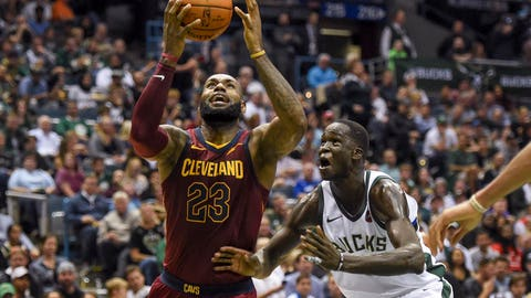 James Drops NBA Season-High 57pts; Cavaliers Beat Wizards