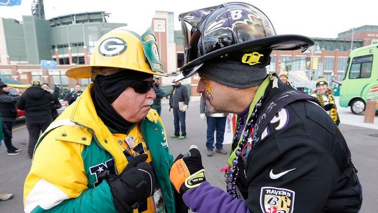 PHOTOS: Packers vs. Ravens