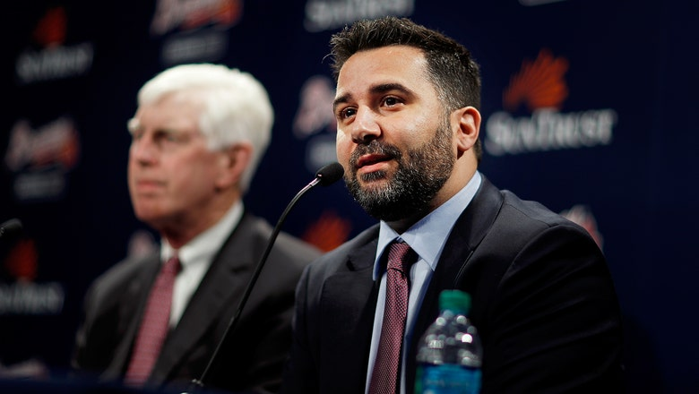 Braves name Alex Anthopoulos as next general manager, executive VP