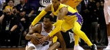 Booker drops 36 but Lakers pull away from Suns late