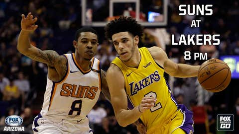 Lonzo Ball Had No Interest In Backing Teammates During Lakers-Suns Fight