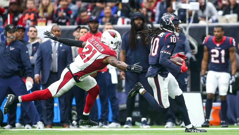 Receivers struggle as Cardinals come undone in second half, lose to Texans