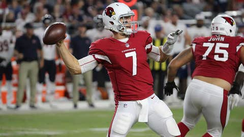 Gabbert gets 1st start at QB for Cardinals at Houston