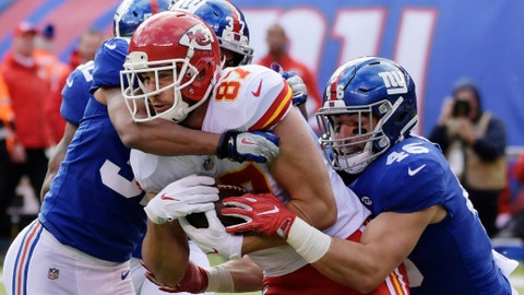 Giants answer coach's challenge in win over Chiefs