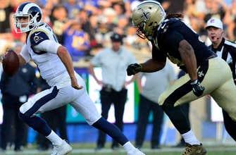 Goff leads Rams past streaking Saints 26-20