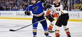 Blues' comeback attempt falls short in 3-2 loss to Ducks