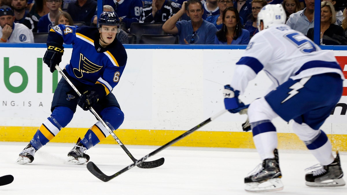 Blues recall Sammy Blais from AHL