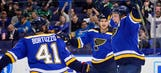 Blues' offensive attack rounding back into form as Coyotes come to town