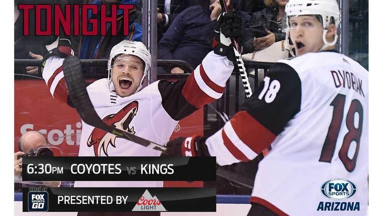 Preview: Coyotes vs. Kings, 6:30 p.m., FOX Sports Arizona