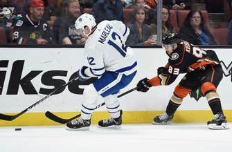 Ducks lose at home 3-1 to Maple Leafs