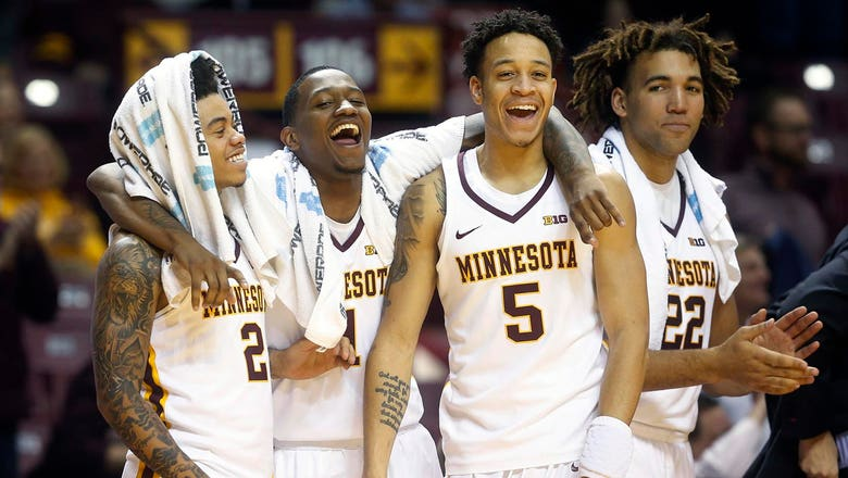 Gophers rout Alabama A&M 100-57