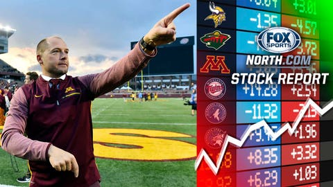 P.J. Fleck, Gophers football coach (➡ NEUTRAL)
