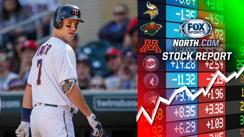 Joe Mauer, Twins first baseman (↓ DOWN)
