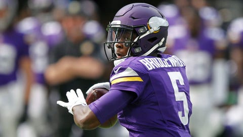 QB Teddy Bridgewater, unrestricted