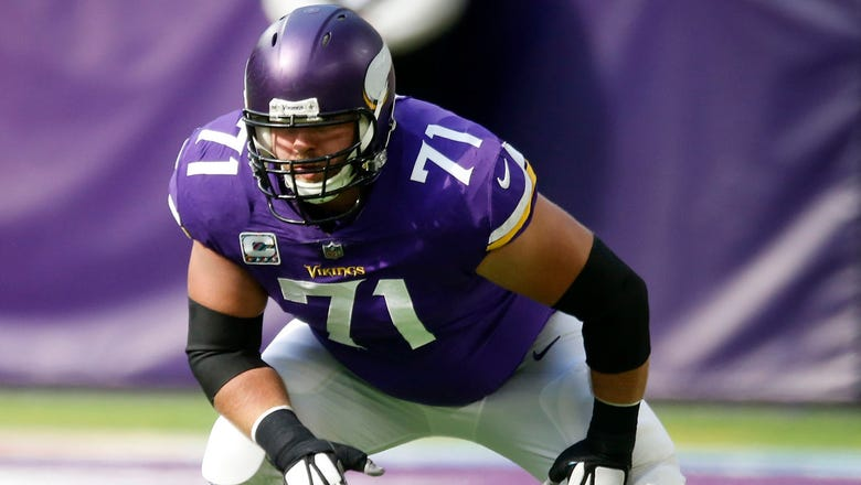 Vikings tackle Reiff proving his worth after signing big contract