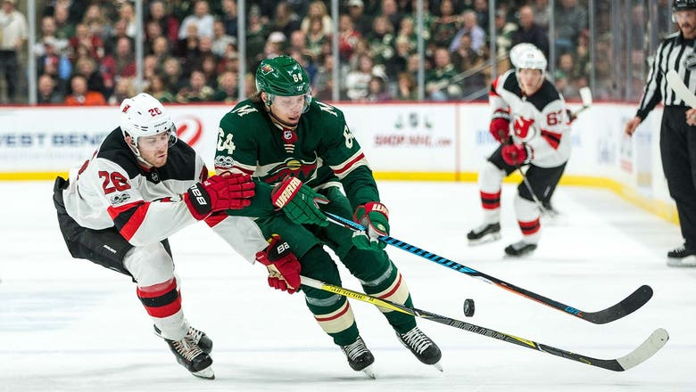 Granlund forces OT, but Wild fall to Devils