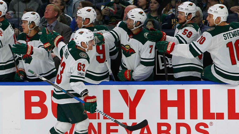 Wild outlast Sabres in first meeting since trade
