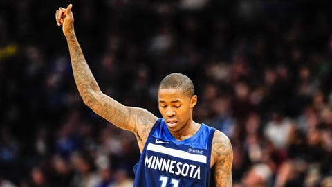 Jamal Crawford, (reportedly) former Wolves guard (↓ DOWN)