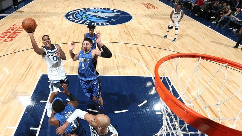 Wolves survive fourth-quarter scare in win over Magic