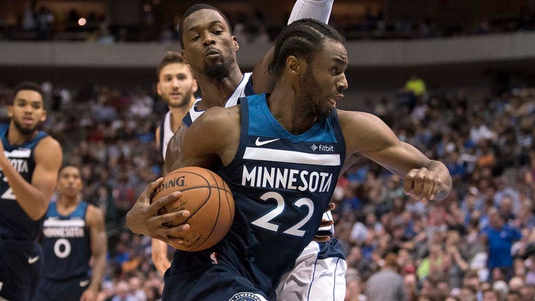 Wolves rally from 14-point deficit, beat Dallas 111-87