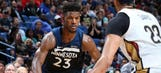 Wolves' Butler, Gibson have history of success vs. Pelicans