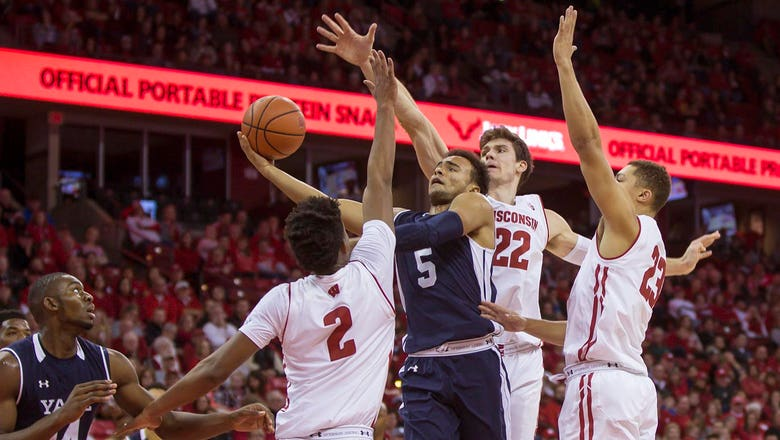 Badgers roll to 89-61 win over Yale
