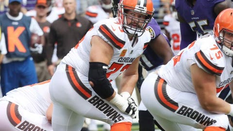 Joe Thomas, former Badgers offensive tackle