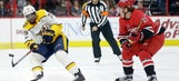 Preds LIVE to Go: Nashville earns a point, but falls 4-3 to Canes in a shootout
