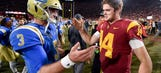 Peter Schrager discusses the draft prospects of Sam Darnold and Josh Rosen after their showdown
