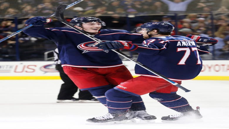 Anderson's goal in OT gives Blue Jackets 1-0 win over Flames