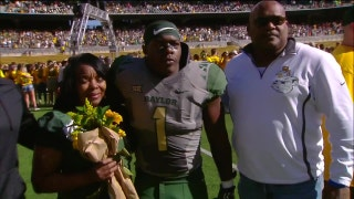 Baylor Bears take the field for Senior Day