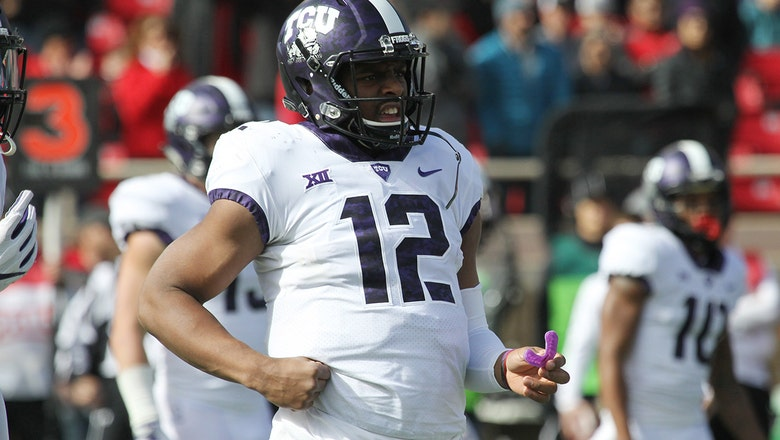 The No. 12 TCU Horned Frogs crush the Texas Tech Red Raiders 27-3 in Shawn Robinson's 1st career start