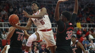 St. John's Red Storm puts on a show as they defeat the Nebraska Cornhuskers, 79-56