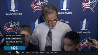 Tortorella is joined by two special guests after the Blue Jackets' 4th straight win