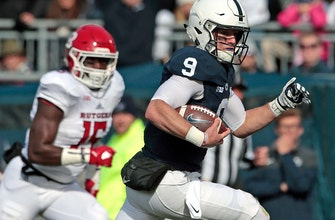 Trace McSorley and the No. 14 Penn State Nittany Lions roar past the Rutgers Scarlet Knights 35-6