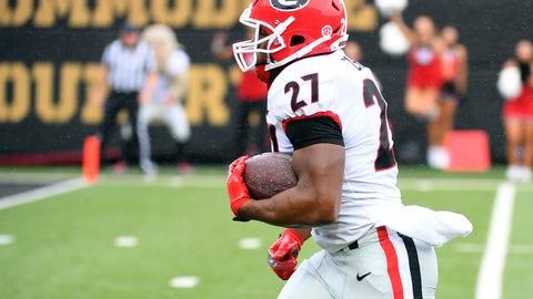 #1 - Georgia Bulldogs (8-0)