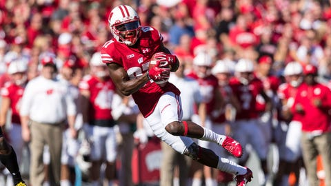 Badgers' Quintez Cephus takes leave from team