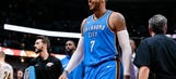 Anthony has huge night, Thunder fall to Nuggets