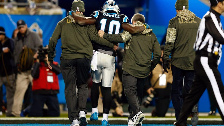 Panthers' WR Samuel out for season